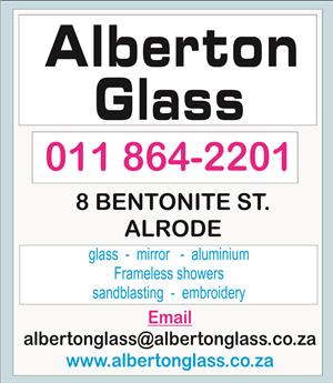 Glass. Mirror, shower doors, table tops,   new & repairs
