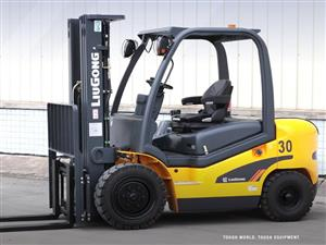 LIUGONG 3 TON DIESEL FORKLIFTS
