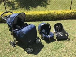 Graco travel system with all extras