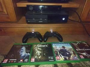 xbox one 500 gb and more in excellent condition