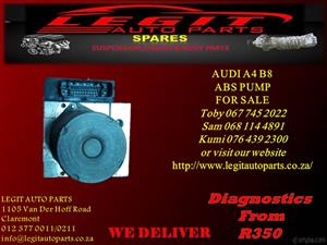 AUDI A4 B8 ABS PUMP FOR SALE