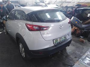 2016 Mazda CX3 stripping for spares by K&M motor spares