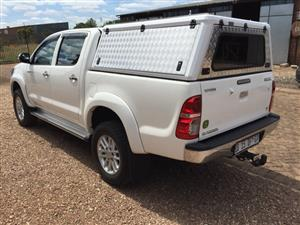 Brand new aluminium canopy for a 2005- 2015 Toyota Hilux D/Cab