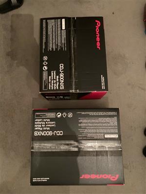 Brand new 2 x cdj 900 nexus