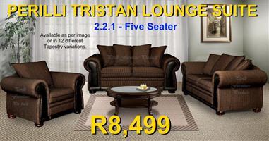 PERILLI Tristan Five Seater Lounge Suite.