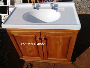 Used Vanity + Mixer