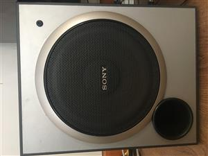 "10"" Sony active subwoofer"