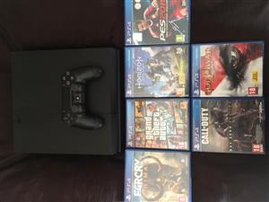 playstation4, control, 6 games