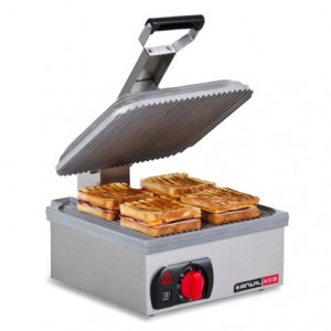 Toaster flat plate - non- stick