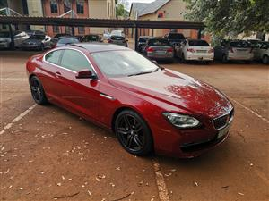 2011 BMW 6 Series 650i Individual sports automatic