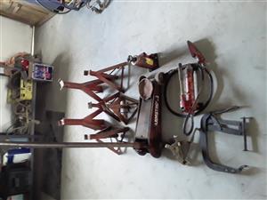 Garage  equipment assorted