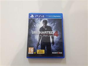Uncharted 4 PS4 Game for Sale!