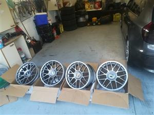 17 inch bbs concave 5x100 for sale
