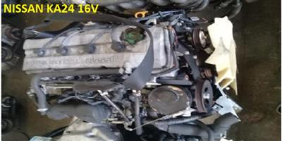Second hand used low mileage NISSAN NAVARA/HARDBODY 2.4L 16V DOHC engines for sale