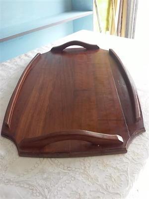 Kiaat hout skinkbord