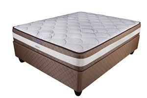 Restonic Bamboo Dream Queen Mattress and Base Set