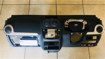 Corsa Chev utility dashboard airbags