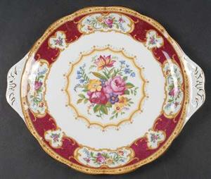 Royal Albert Fine China lady Hamilton design