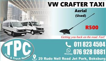 VW Crafter Aerial - Used - Quality Replacement Taxi Spare Parts