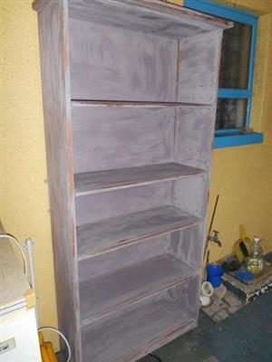 SOLID PINE CABINET,