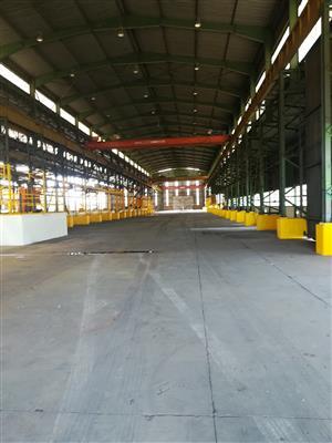 22 000m2 warehouse to let in Wadeville, Germiston