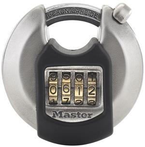 Master Lock Ultimate Strength 70mm Stainless Steel Combination Discus Padlock