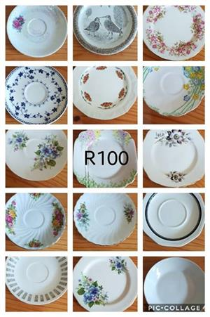 Various decor plates for sale