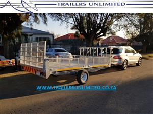 THE GARDNER TRAILERS UNLIMITED. 4000 X 2000 X 400. TRAILERS UNLIMITED.