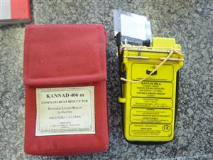 Kannad 406m Personnal Locator Beacon by Sattelite