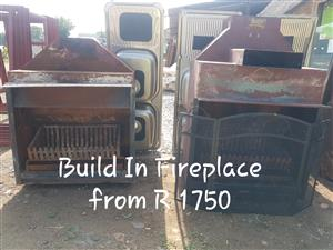 Build In Fire Place From R 1750