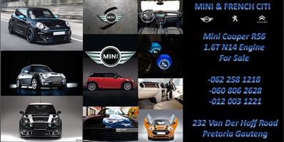 Mini Cooper R56  1.6T 10FJ N14 Engine For Sale