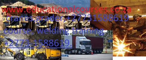 Cranes, Deisel Mechanic course ,#0711775217.#Rigging, Dump truck,.Grader ,Mobile crane,Excavator ,Certificate Renewals .