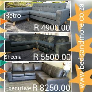 Corner L- shape couches