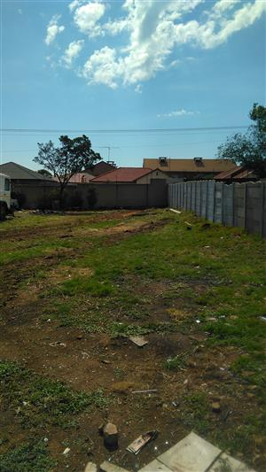 Vacant Land to Rent