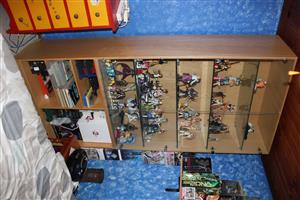 Glass Display Cabinet for displaying collectables