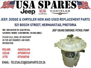 JEEP GRAND CHEROKEE PETROL PUMP (FOR SALE)
