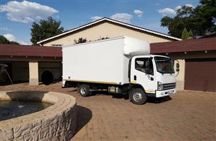 2014 FAW 5 ton VAN BODY