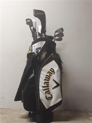 Brand new callaway full set of golf clubs for sale,paid R13000 a week ago