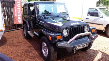 2002 Jeep Wrangler 4.0L Sahara