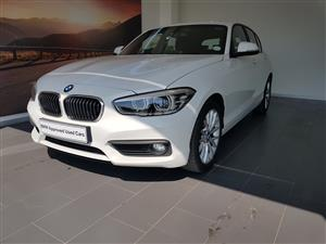 2016 BMW 1 Series 120i 5 door auto