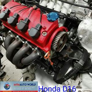 Imported used Engines, Honda 1.6L engine, Complete second hand used engines,