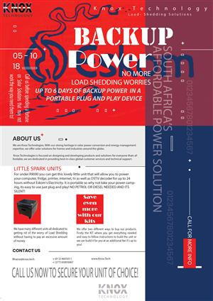 Backup power solutions that last for days for under R10000