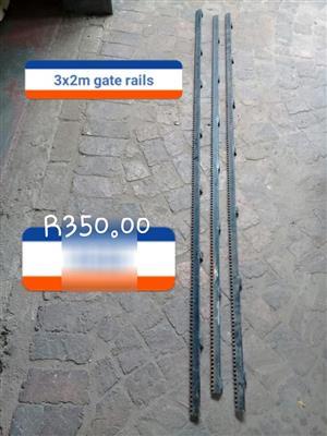 Gate rails for sale