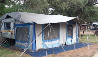 Sprite Splash Full Rally Tent for sale: R 7 500