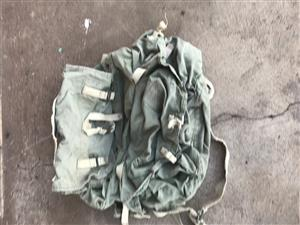 Hiking rug sack