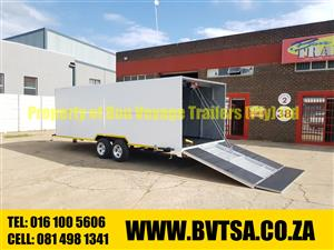 6 Meter Enclosed Car Trailer For Sale
