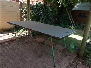 Sewing or work table