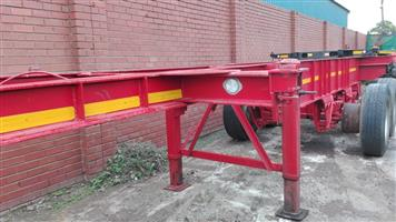 TRAILOR FOR HIRE 6M DOUBLE AXLE SKELETON FOR HIRE