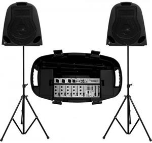 Studiomaster Walkabout Portable Dual PA System 300w