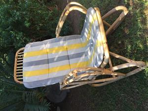 2 Cane Rocking Chair